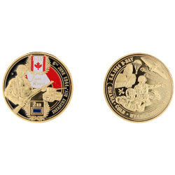 E1126 Medal Plage Juno Beach Debarquement