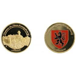 D1140 Medal 32 mm Alsace Chateau Du Haut