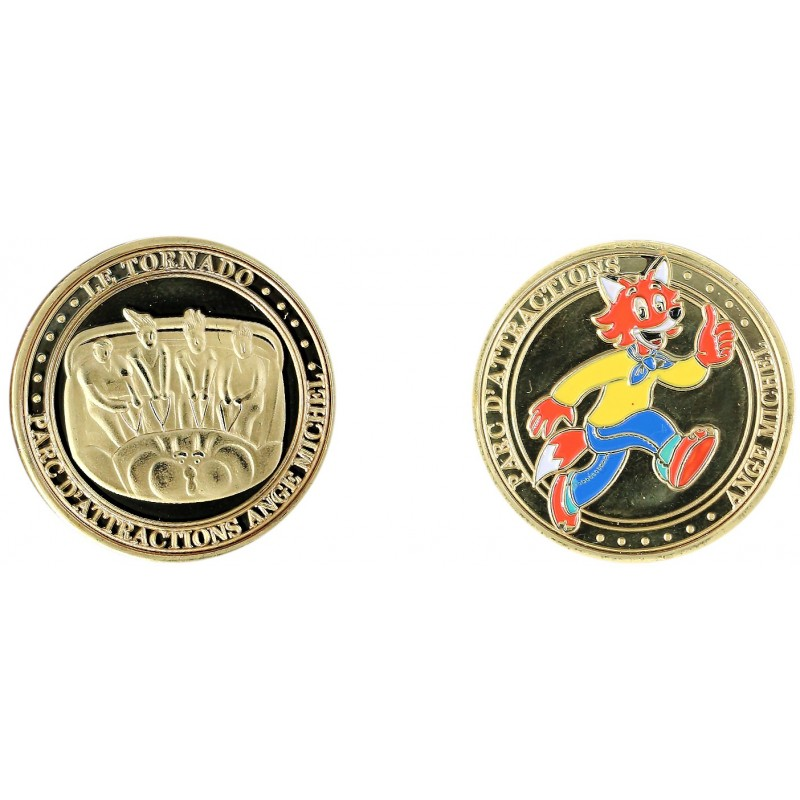 D11439 Medal 32 mm Ange Michel Tornado