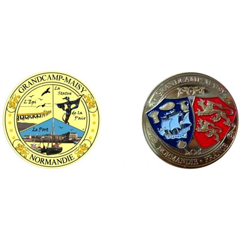 E1143 Medal 40 mm Grandcamp Maisy Perso 2014