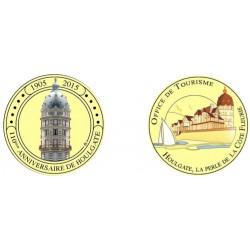 E1160 EXCLUSIVITE CLIENTVente uniquement en Magasin Medaille 40 mmot Houlgate