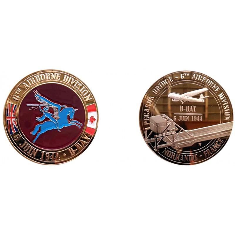 F1111 Medal 70 mm Pegasus Bridge
