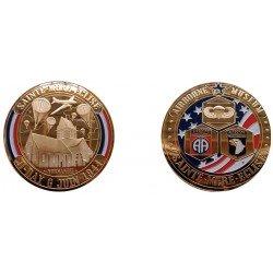 F1112 EXCLUSIVITE CLIENTVente uniquement en Magasin Medaille 70 mm Ste. Mere Eglise Mai