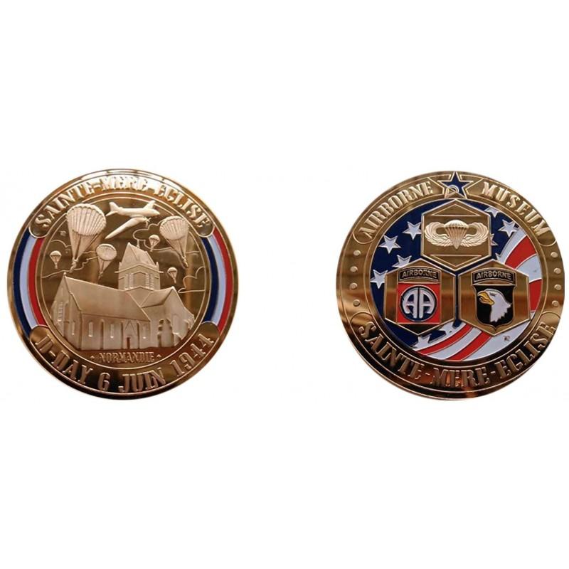 F1112 Medal 70 mm Ste. Mere Eglise