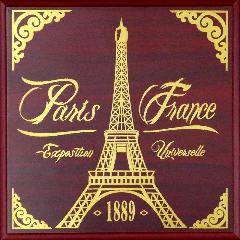 BOX2 Luxury case 4 Medals Paris 40mm