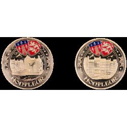 F1170 EXCLUSIVITE CLIENTVente uniquement en Magasin Medaille 70 mm Honfleur