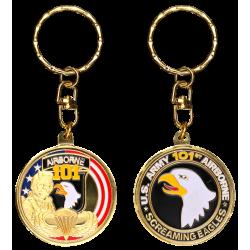 PCDD4 Keychain Round 101St Airborne Division