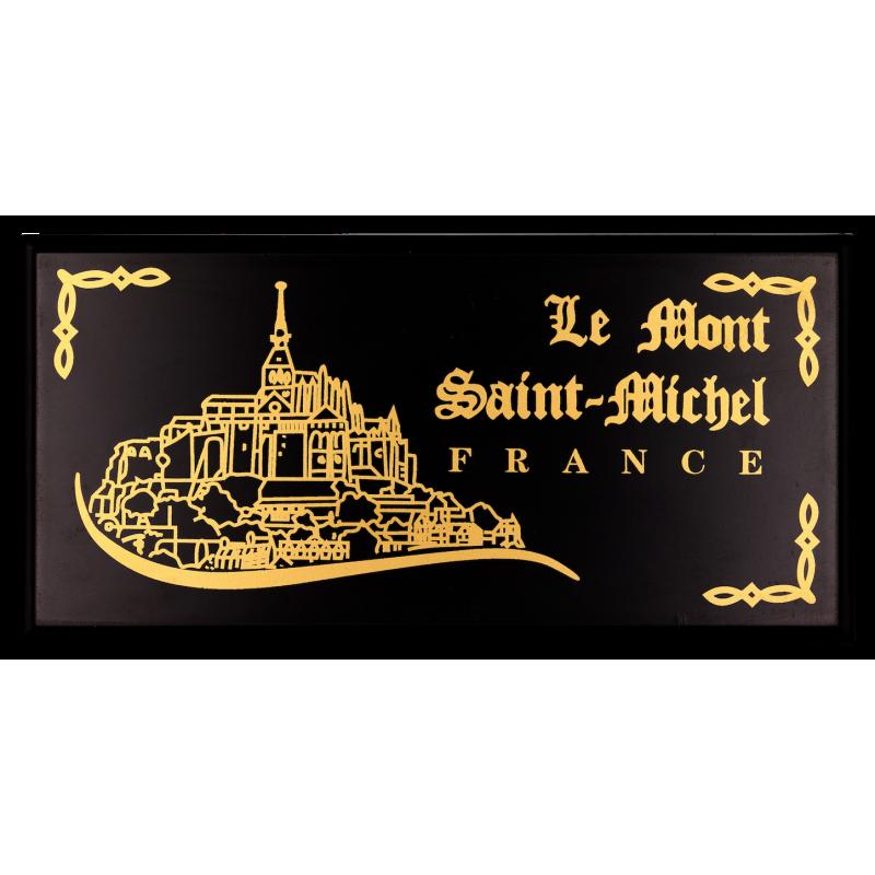BOX3BR Luxury case 3 Medal 40mm Le Mont St Michel