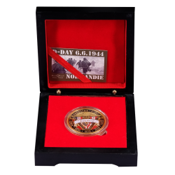 BOX10 Luxury case 1 Medal 40mm Victory + Flagx