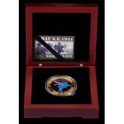 BOXCPEG Luxury case 1 Medal 40mm Pegasus Bridge
