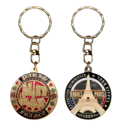 PC004 Keychain Round 5 Monuments
