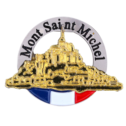 PDD20 Badge Mont Saint Michel withButterfly Clutch