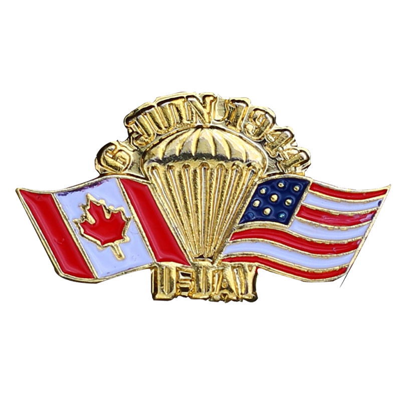 PDD16 Pins Para + Canada Usa