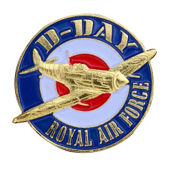 PDD11 Badges Spitfire R.A.F. With Butterfly Clutch