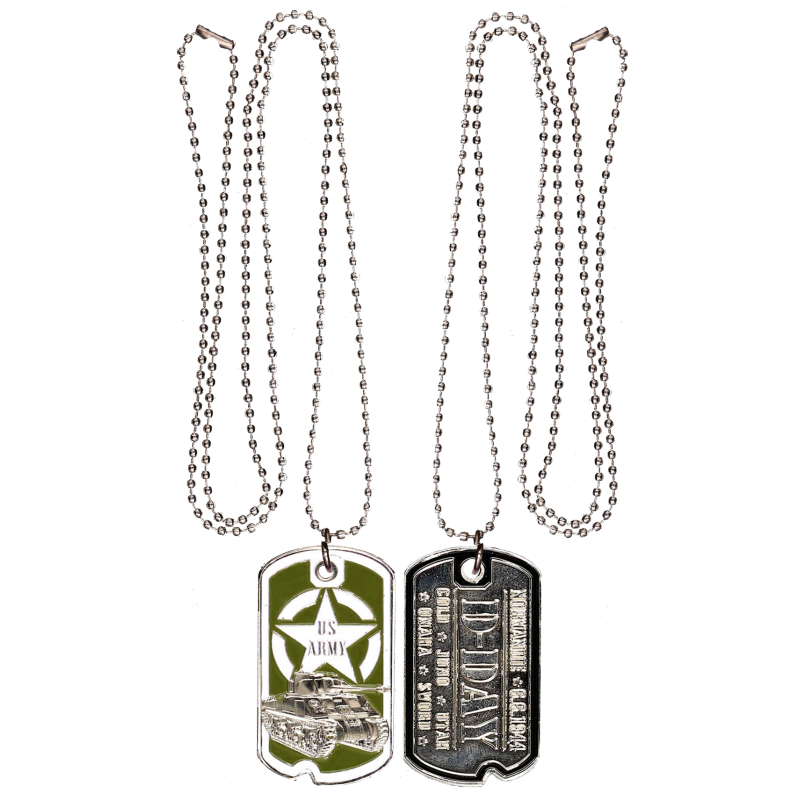 DT2 Dog Tag Tank Wwii