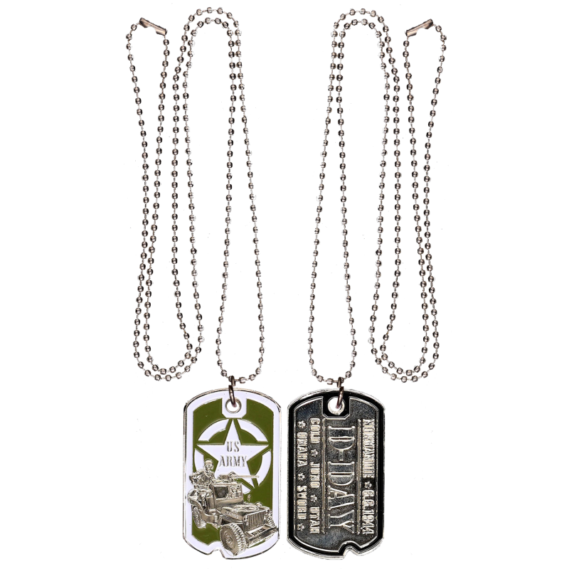 DT3 Dog Tag Jeep Wwii
