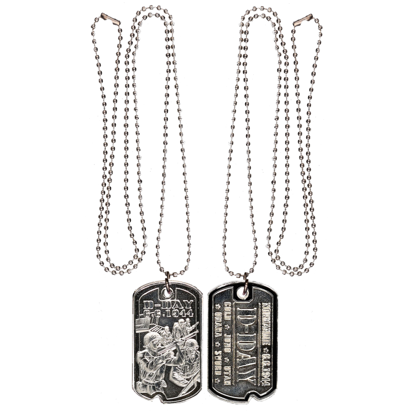 DT6 D-Day Dog Tag