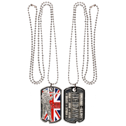 DT7 Dog Tag U.K. Army