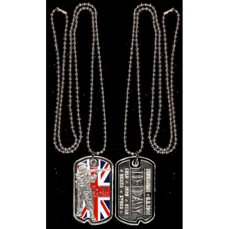 DT7 Dog Tag U.K. Army