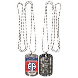 DT82-1 Dog Tag 82Nd Airborne Division