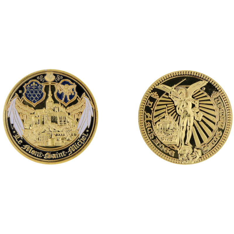 D11382 Medal 32 mm Le Mont St Michel Les Ailes Blanches