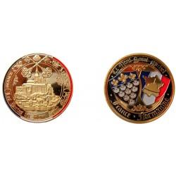 D11380 Medaille 32 mm Le Mont St Michel Clefs Du Mont