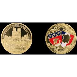 D11207 Medaille 32 mm Notre Dame + Peniche