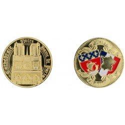E1167 Medaille 40mm Paris Arc Blasons