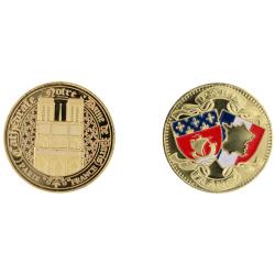 E1163 Medal 40mm Paris Nd Blasons