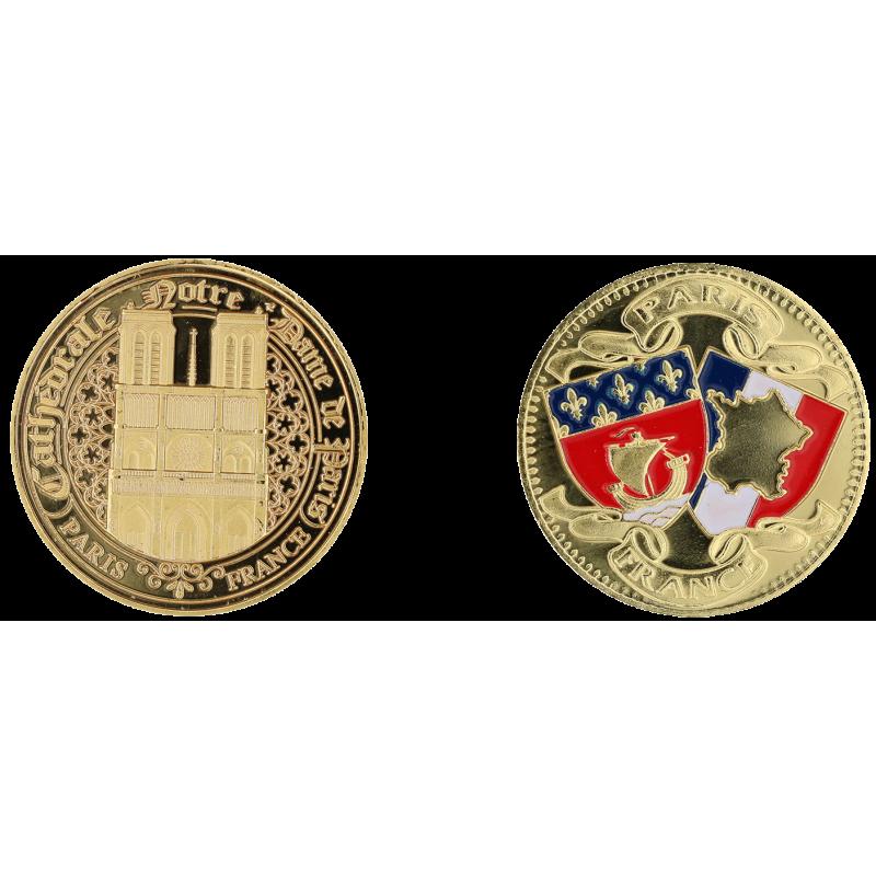 E1163 Medaille 40mm Paris Nd Blasons