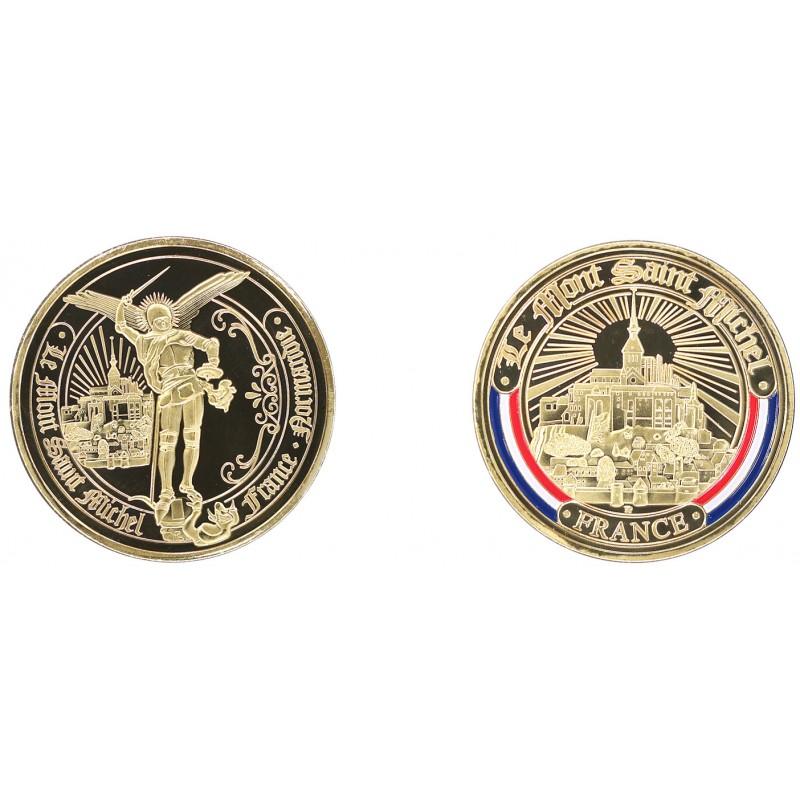 E1148 Medaille 40mm Mont Saint MichelFrance