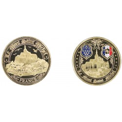 E1146 Medaille 40mm Mont Saint Michel