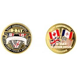 E11393-75 Medal 40 mm 75 eme