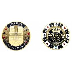 E1118 Medaille 40 mm Poker N.D. Vip 40mm