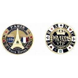 E1117 Medaille 40 mm Poker T.E. Date Vip 40mm