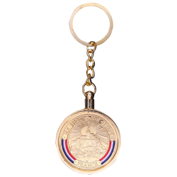 Adaptateur Porte-clés Médailles Diam 32 mm GOLD