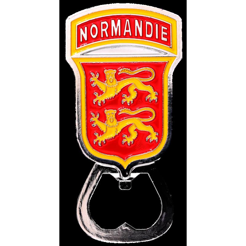 MN11 Magnet Metal Normandie bottle opener Normandie