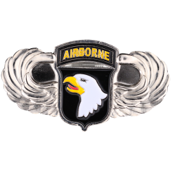 MN12 Magnet Metal D Day 101St Airborne + Ailles