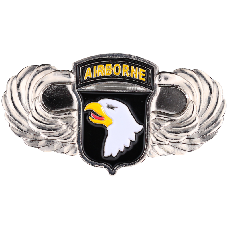 MN12 Magnet Metal D Day 101St Airborne + Allies