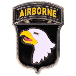 MN14 Magnet Metal D Day 101St Airborne Classic