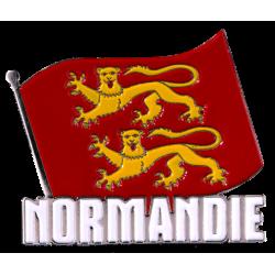 MN4 Magnet Metal Drapeau Normandie