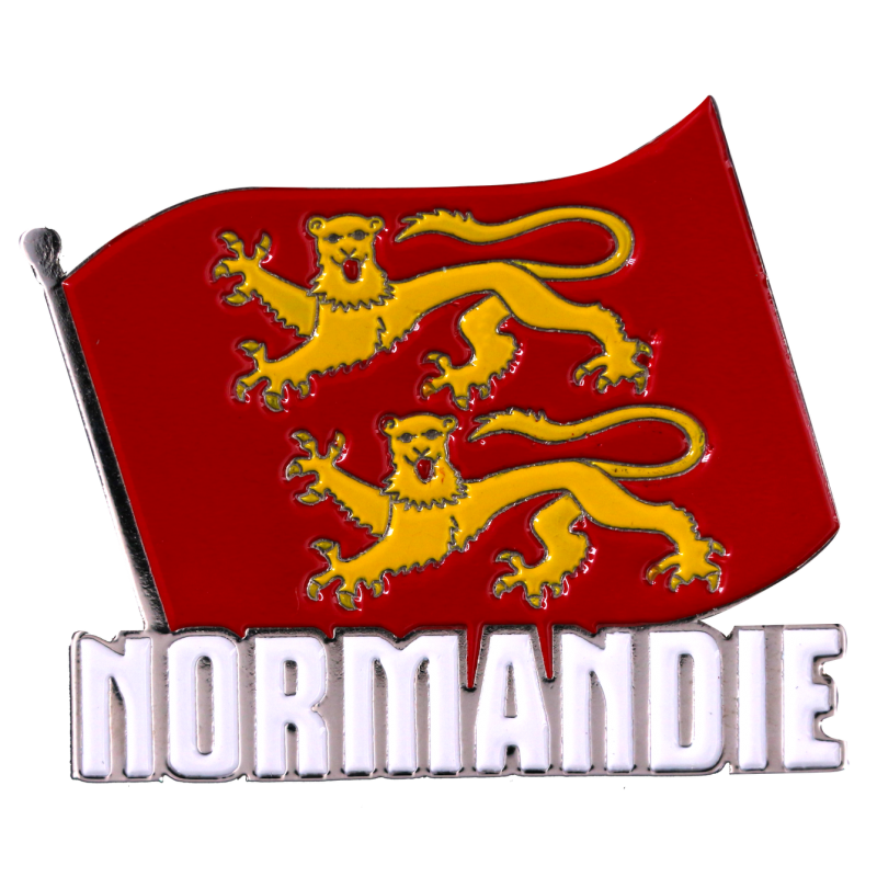 MN4 Magnet Metal Flag Normandie