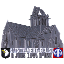 MN41 Magnet Metal D Day Ste. Mere Eglise