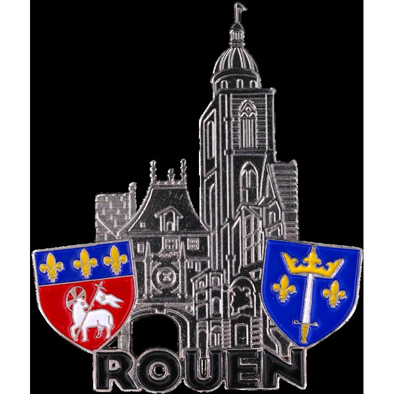 MN54 Magnet Metal Horloge Rouen