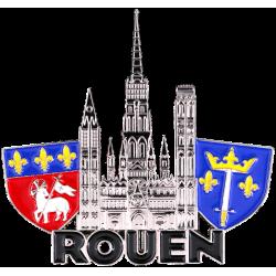 MN55 Magnet Metal Cathedrale Rouen