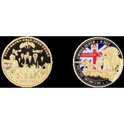 Coin 40 mm Vintage Sword Beach