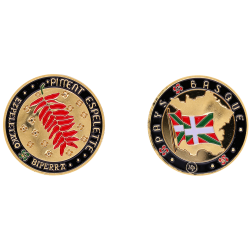 Coin 34mm Chilli of Pays...