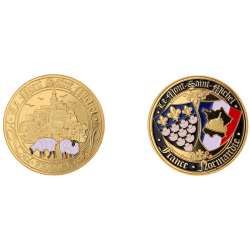 Coin 40mm MsmColor Lambs