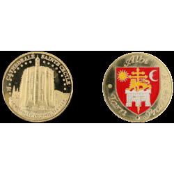 D1199 Medal 32 mm Albi Cathedrale Ste Cecile