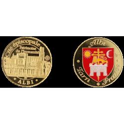 D1187 Medal 32 mm Albi Cite Episcopale